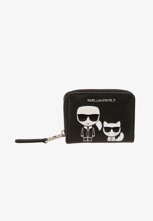 IKONIK FOLDED ZIP WALLET - Wallet - black