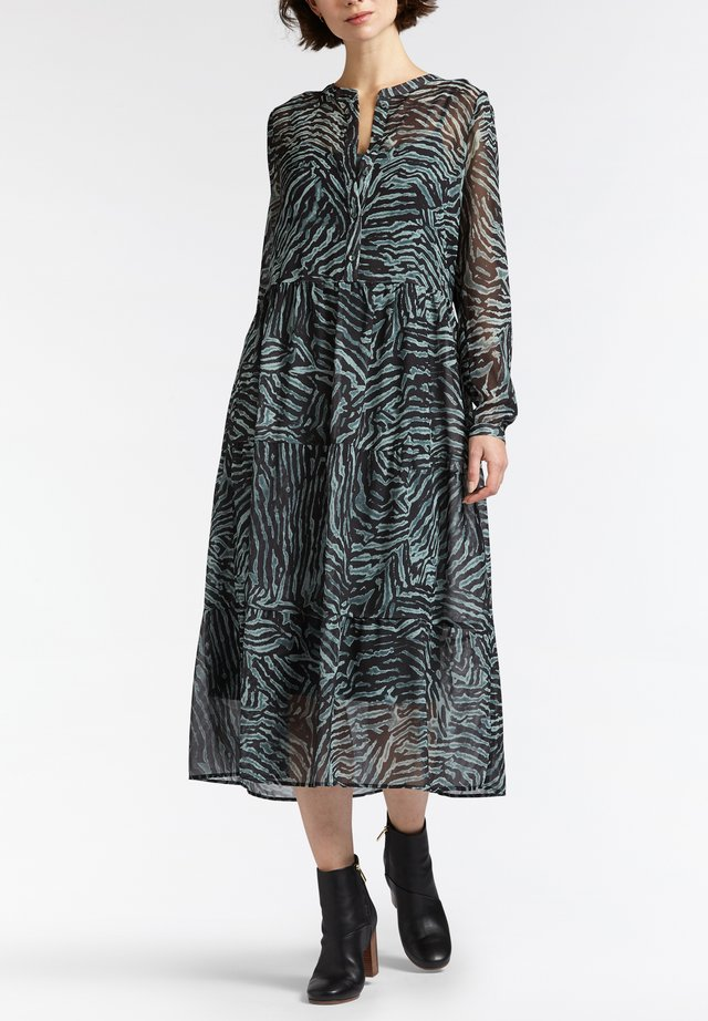 MIT ALL-OVER-PRINT - Blusenkleid - grãn