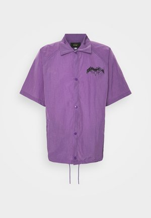 LIVEUTION SHORT SLEEVE COACH JACKET UNISEX - Chaqueta fina - purple