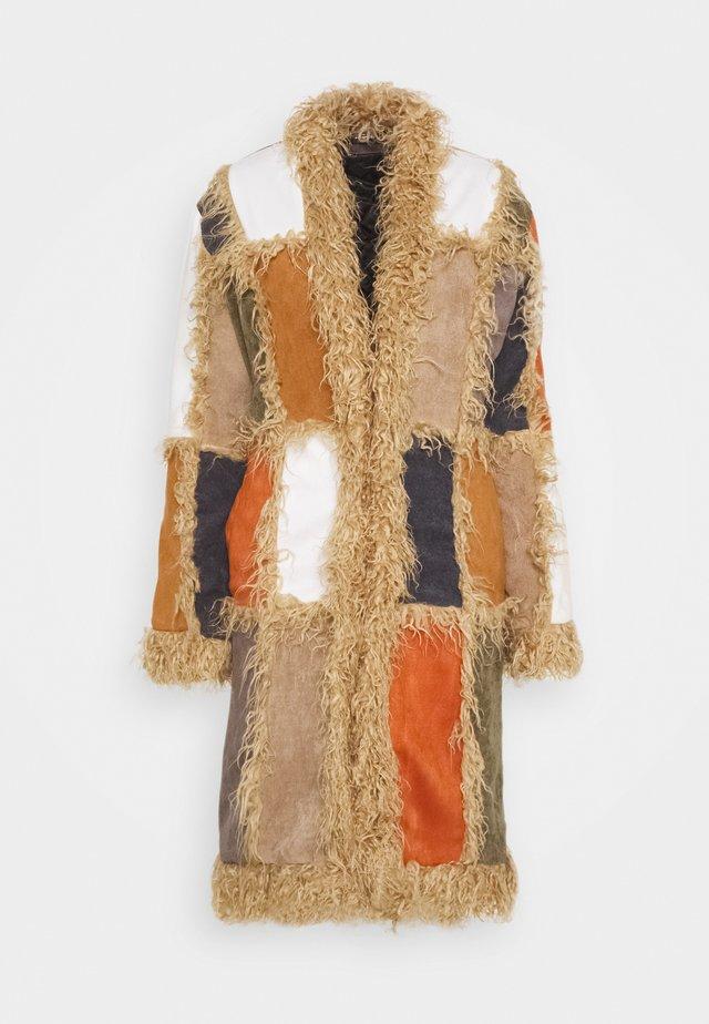 PATCHWORK COAT - Winter coat - multi