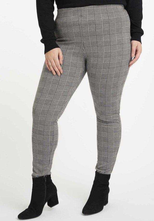 Legging - multi zwart-wit