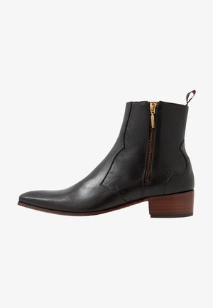 CARLITO DOUBLE ZIP BOOT - Cowboy/biker ankle boot - kenda testa