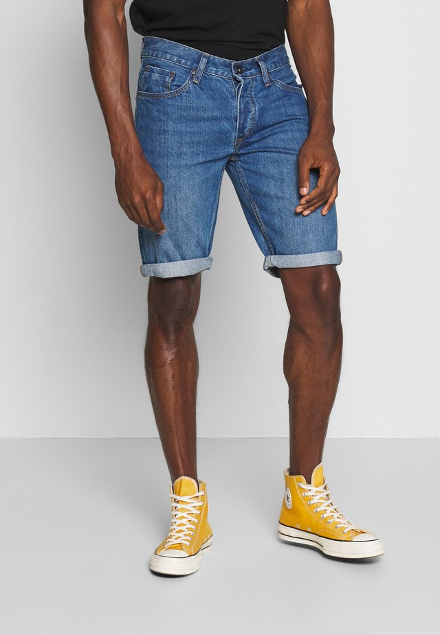 HARROW - Szorty jeansowe - blue denim