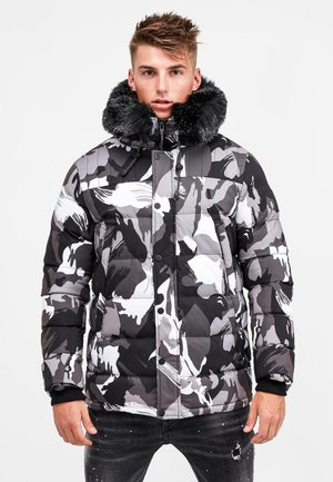 FROST - Winter jacket - grey camo