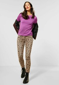 Street One - NORMAL FIT - Jumper - lila - 1