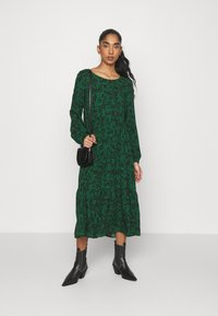 Even&Odd - Day dress - green/black - 1