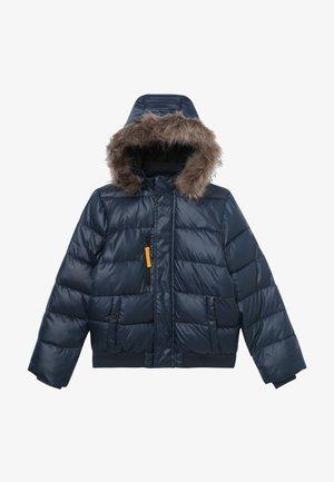 NKMMILAS BOMBER JACKET - Zimní bunda - dark sapphire