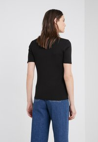 J.CREW - CREWNECK ELBOW SLEEVE - Basic T-shirt - black - 2