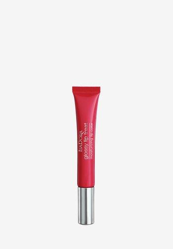 GLOSSY LIP TREAT - Lip gloss - poppy red