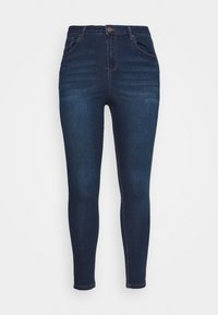 Simply Be - HIGH WAIST - Jeans Skinny Fit - indigo - 3