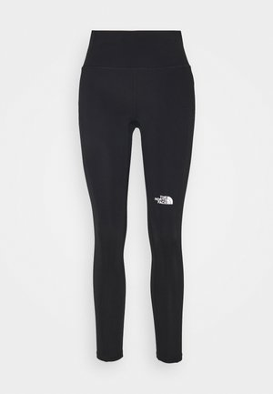 WINTER WARM HIGH RISE - Leggings - black