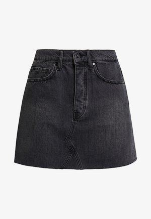 PEARL SKIRT - Áčková sukně - washed black
