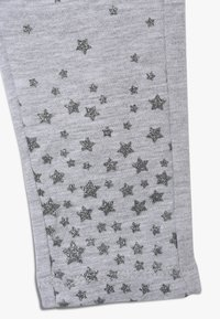 OVS - BABY PANT WITH PRINT 2 PACK - Leggings - ebony/grey melange - 4