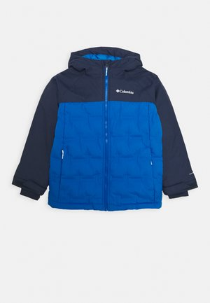 GRAND TREK JACKET - Bunda z prachového peří - bright indigo/collegiate navy