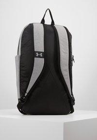 Under Armour - PATTERSON BACKPACK - Rucksack - steel medium heather/black/white - 5