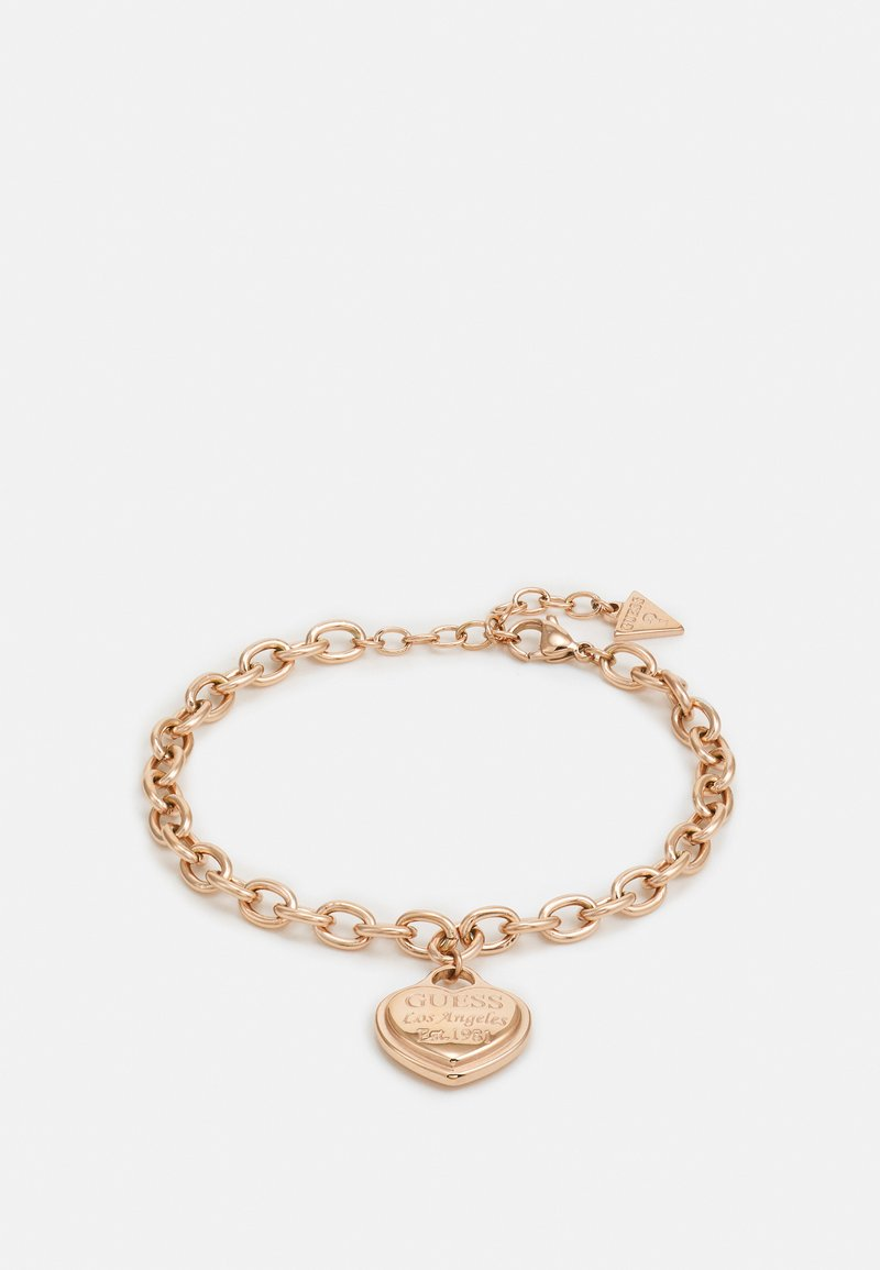 Guess - FOLLOW MY CHARM - Bracelet - rose gold-coloured