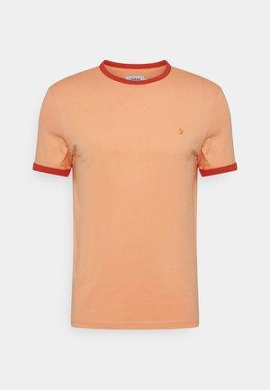 GROVES RINGER TEE - Basic T-shirt - peach solstice