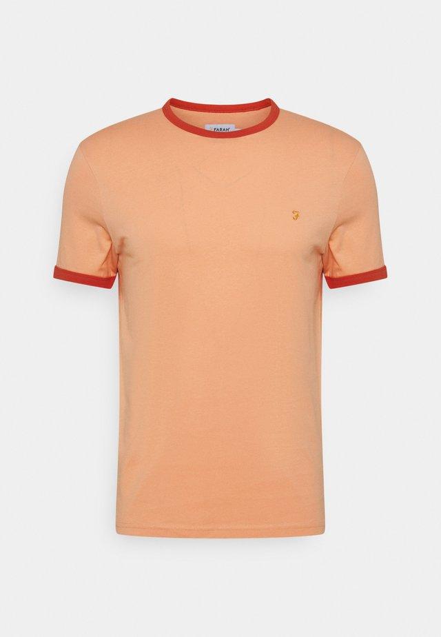 GROVES RINGER TEE - T-shirt basic - peach solstice