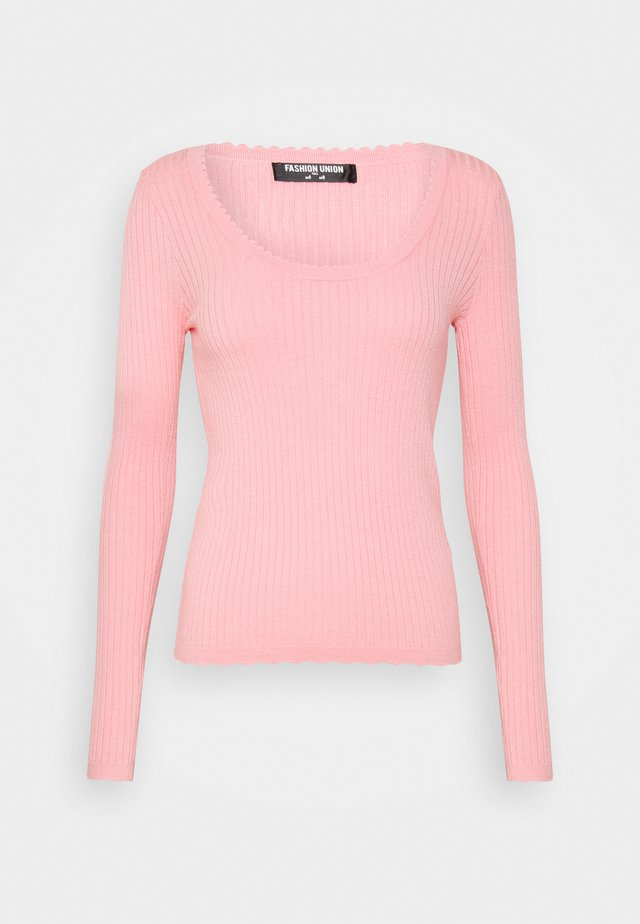 DAVIE - Strikpullover /Striktrøjer - pink rose