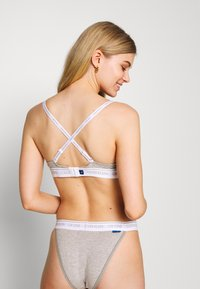 Calvin Klein Underwear - ONE LIGHTLY LINED DEMI - Reggiseno push-up - grey heather - 2