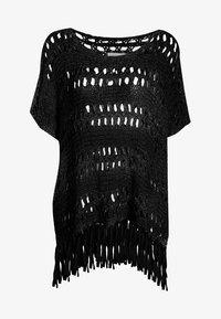 usha - Poncho - black - 4