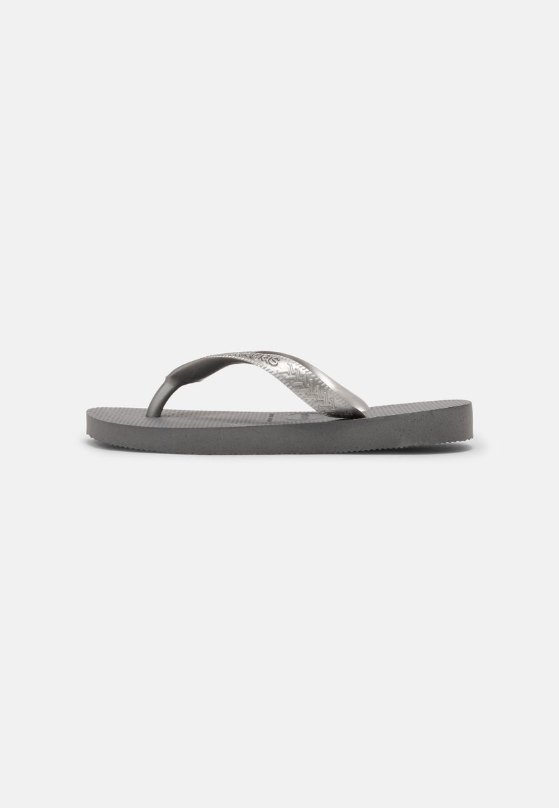 Havaianas - TOP TIRAS - Pool shoes - steel grey