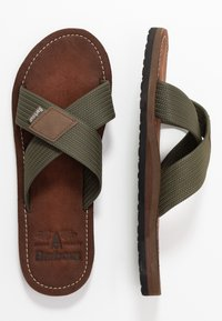 Barbour - ASH BEACH - Mules - olive - 1