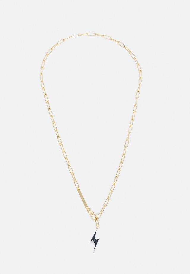 LIGHTNING BOLT NECKLACE - Collier - gold-coloured