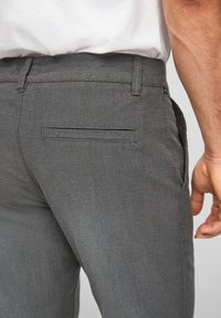 Q/S designed by - SLIM FIT - Trousers - anthracite - 5
