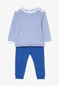 Sanetta - PYJAMA LONG BABY - Pyjamas - river blue - 3