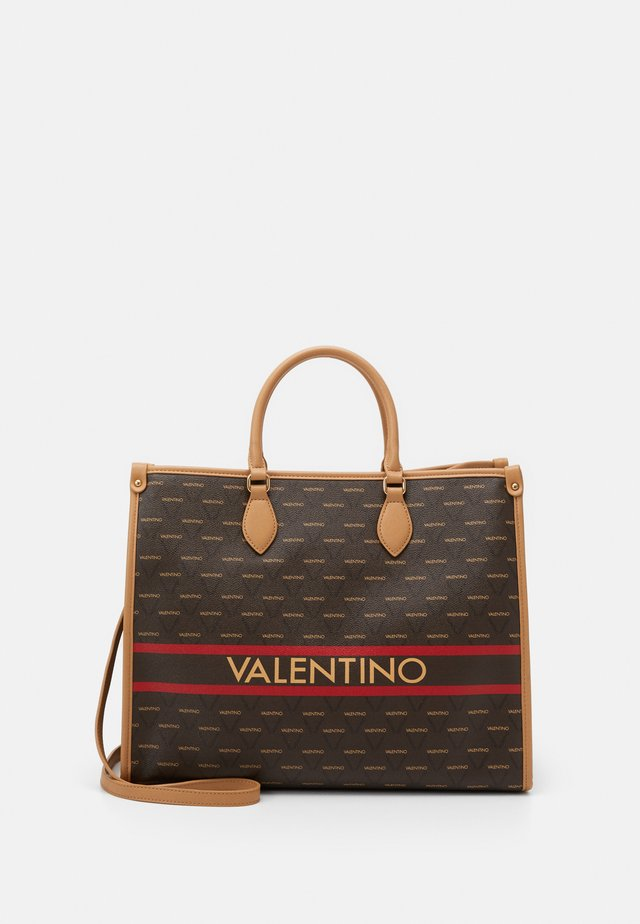 BABILA - Shopping bag - cuoio/multicolor