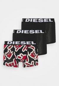 Diesel - DAMIEN 3 PACK - Boxerky - red/black - 0