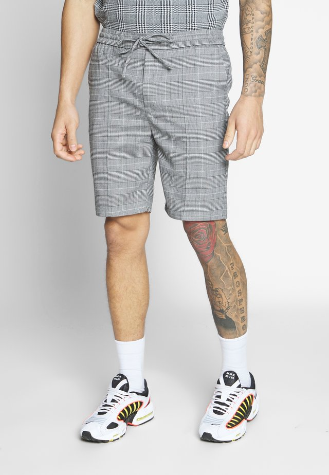 FLICK CHECK - Shorts - grey