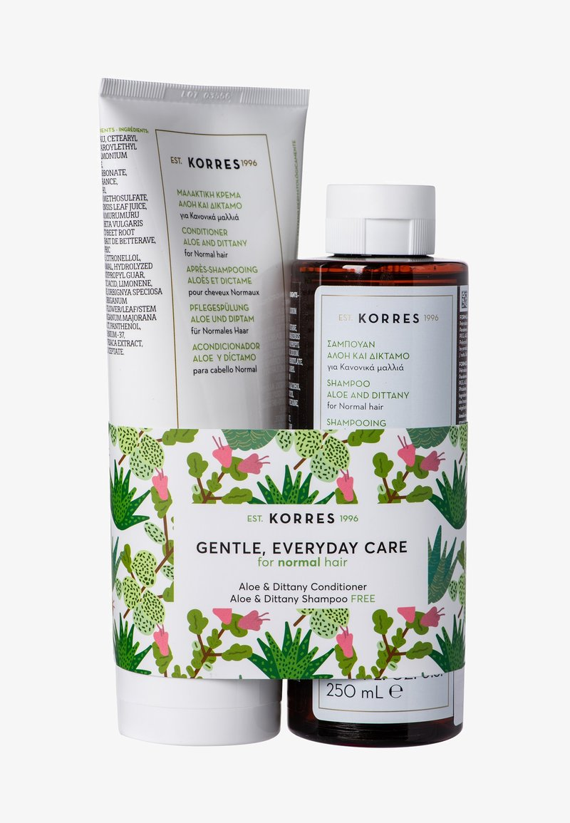 Korres - ALOE & DITTANY COLLECTION - Hair set - -