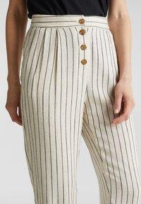 Esprit - PLEATED PANTS - Trousers - sand - 2