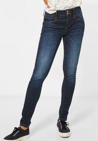 Street One - Jeans Skinny Fit - blau - 0