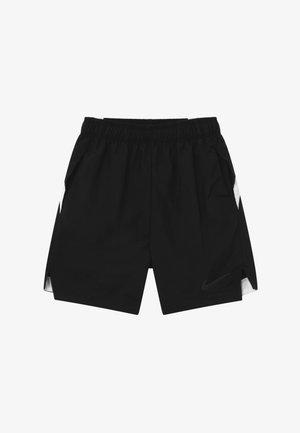 INSTACOOL SHORT - Krótkie spodenki sportowe - black/white