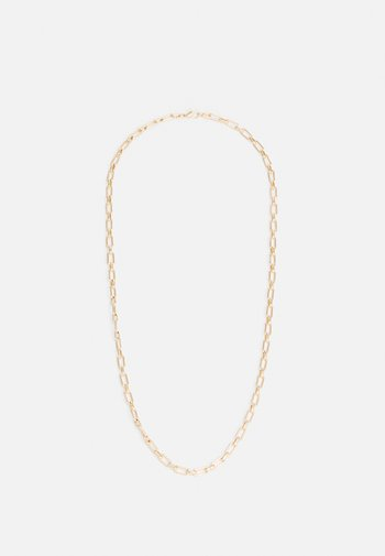 LARGE LINK CHAIN NECKLACE - Necklace - gold-coloured