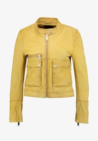Maze - HAMILL - Leather jacket - curry - 4