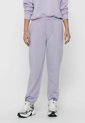 Tracksuit bottoms - pastel lilac