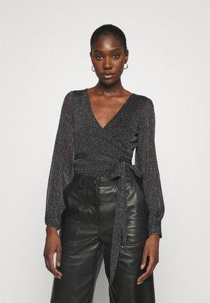 CORINNE - Long sleeved top - black