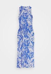 Emily van den Bergh - DRESS - Maxikjole - blue/white - 3