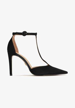 SIMONNE - Lodičky na vysokém podpatku - black