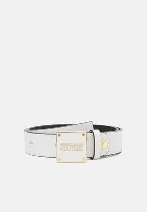 PLAQUE BUCKLE - Cintura - bianco ottico