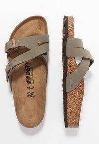 Birkenstock - YAO - Slippers - stone - 3