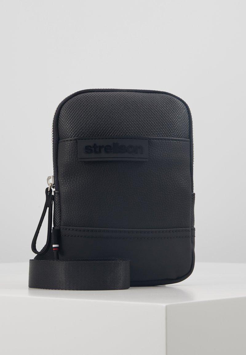 Strellson - ROYAL OAK SHOULDERBAG - Across body bag - black