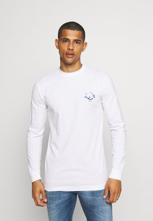 LA TEE UNISEX - Long sleeved top - white