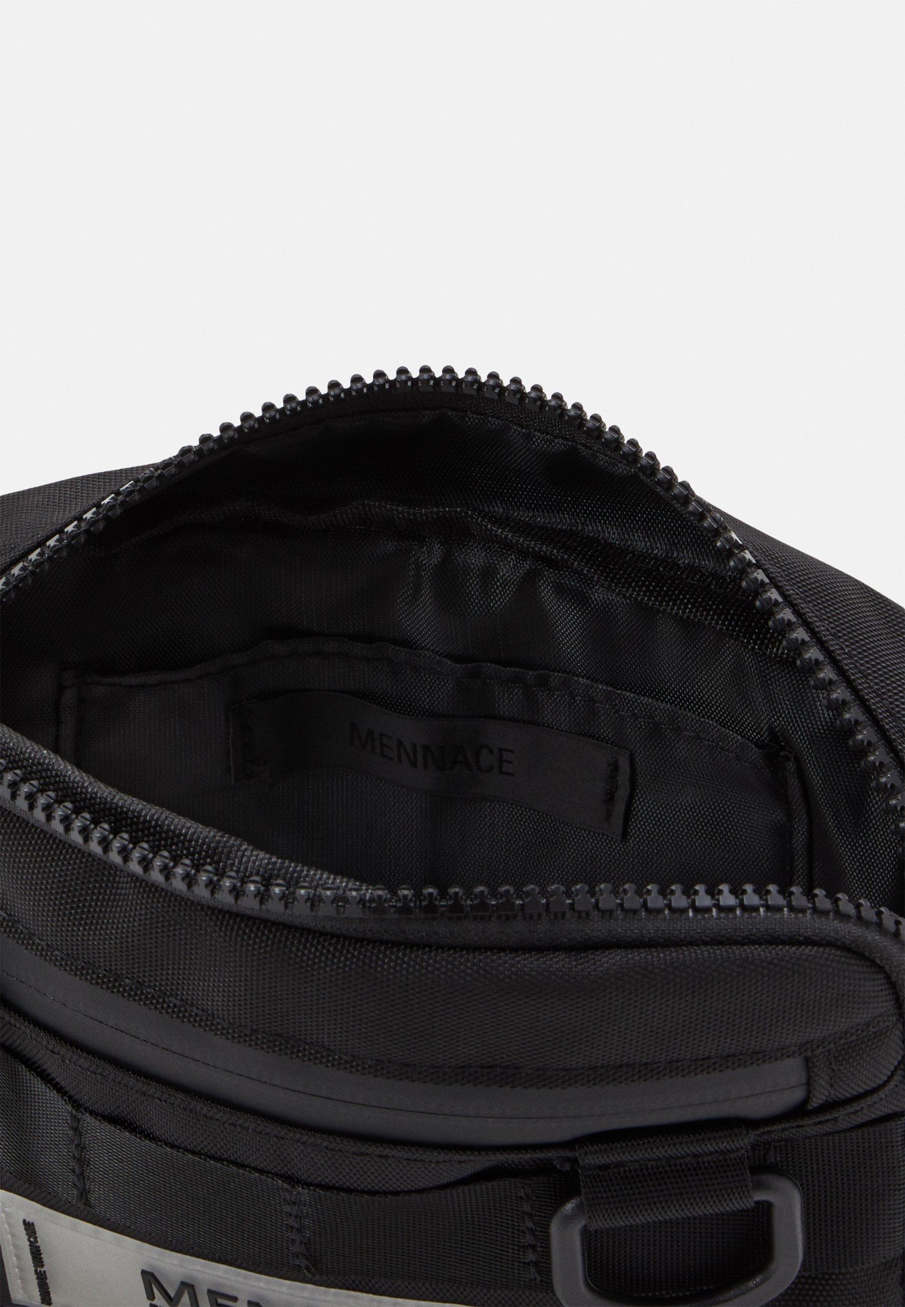 Mennace UTILITY BUM BAG - Rumpetaske - black/svart yXMUiF1p9qUbyZc