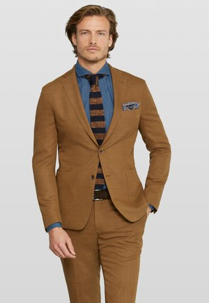 ELAX SPLIT - Suit jacket - cognac
