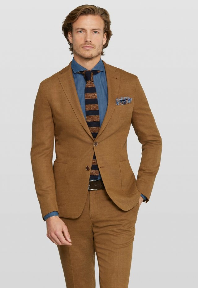 ELAX SPLIT - Veste de costume - cognac